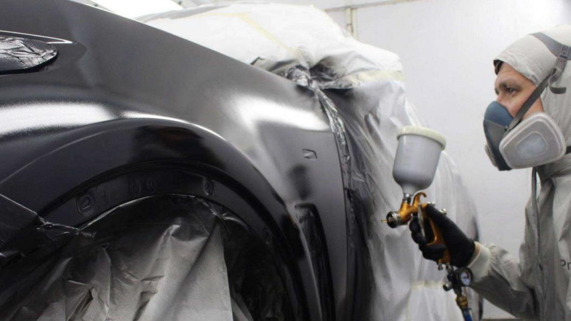 Восстановление кузова автомобиля при помощи пескоструйного аппарата