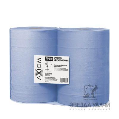 Салфетки индустриальные 2-х слойные бумажные протирочные (1000 листов 33*36)