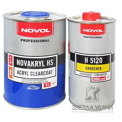 Лак 2+1 НS (1л+0,5л) Novol