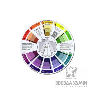 Цветовой круг Освальда серии 400/700/3000