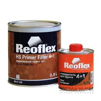 Грунт 4+1 белый HS 0,8л без отвердителя Reoflex