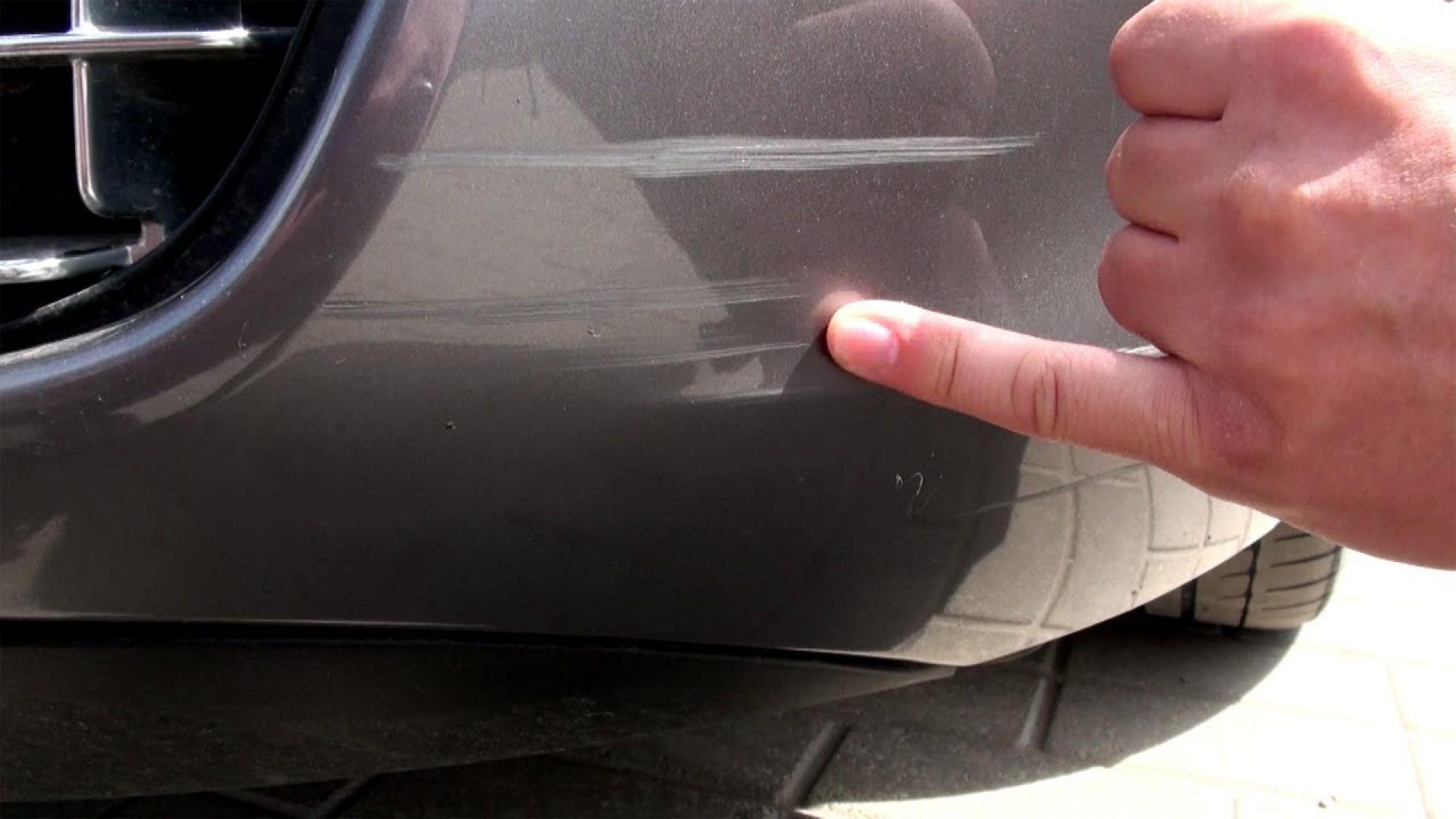 Как быстро и без покраски убрать с кузова авто царапину