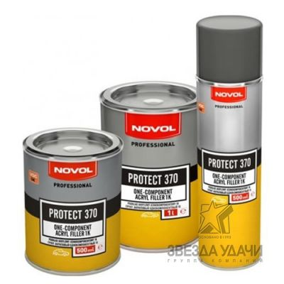 Грунт 1К однокомпонентный PROTECT 370 0,5л Novol