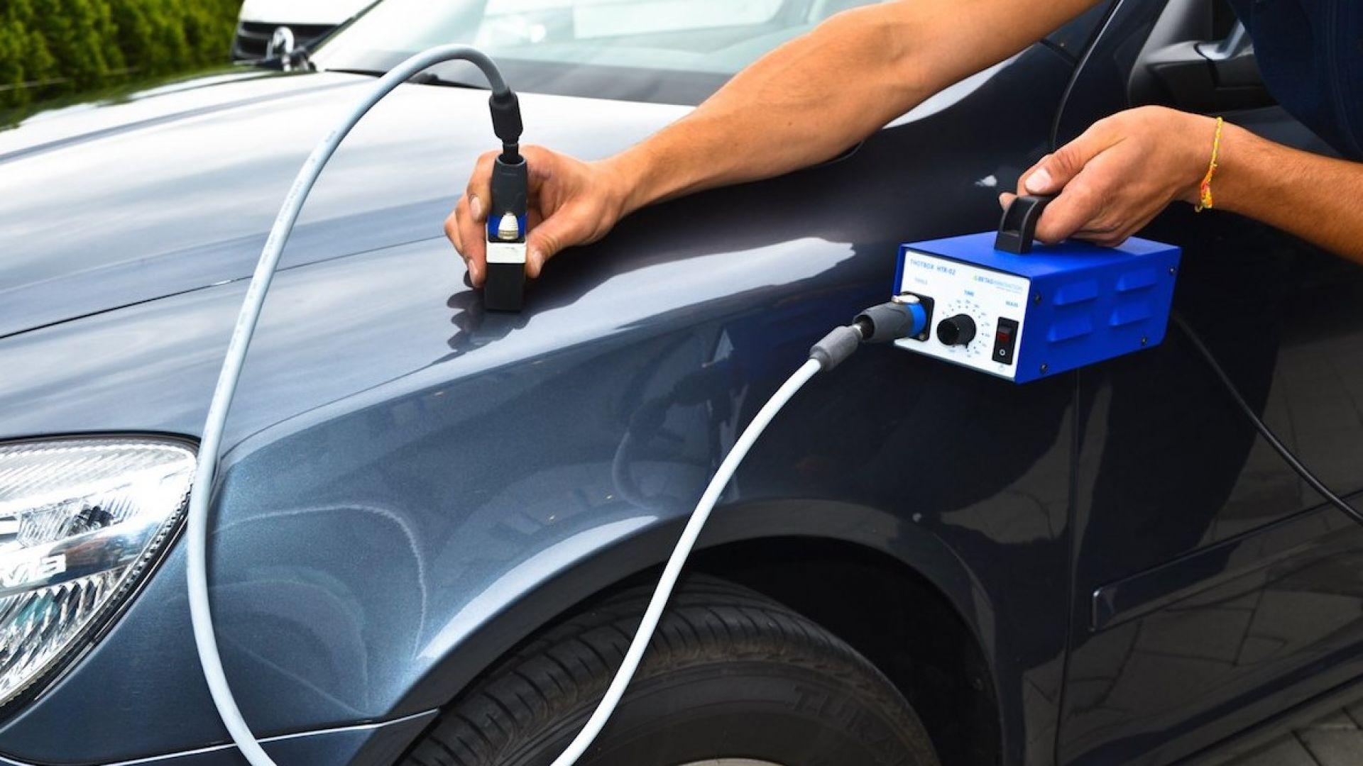 Устранение вмятин на кузове авто без повреждения краски