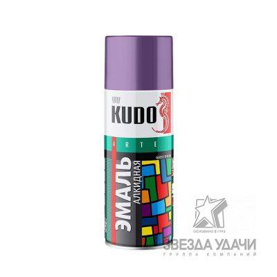 Фиолетовая эмаль универсальная 520 мл Kudo
