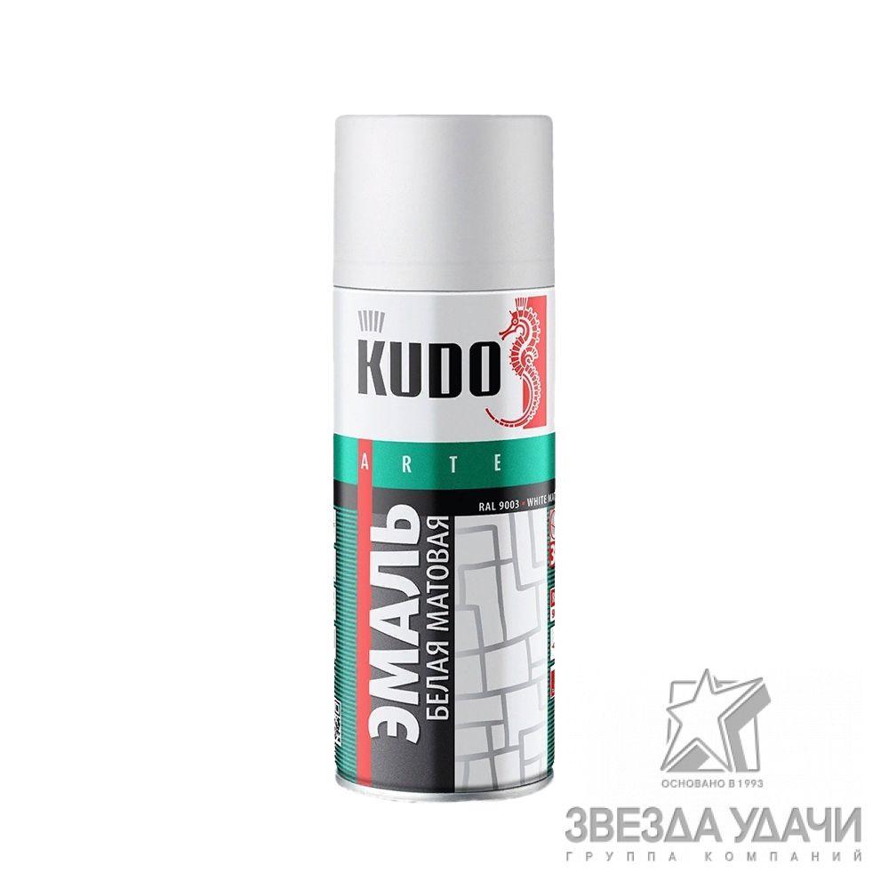Белая матовая универсальная  520 мл. Кudo