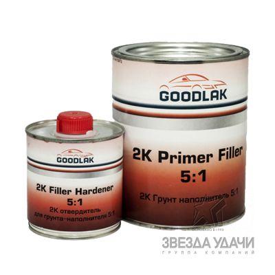 Грунт 5+1 серый (1,0л+0,2) Goodlak/