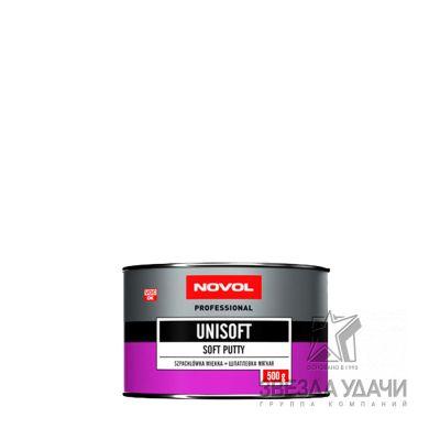 Шпатлевка UNISOFT мягкая 0,5 кг Novol