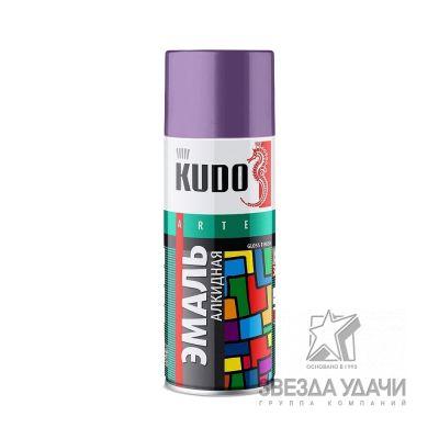 Сине-фиолетовая эмаль универсальная 520 мл Kudo