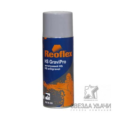 Антигравий MS, черный 520мл аэрозольный Reoflex