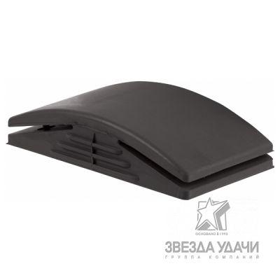 Шлифовальный блок твердый черный 125мм х 70мм VS