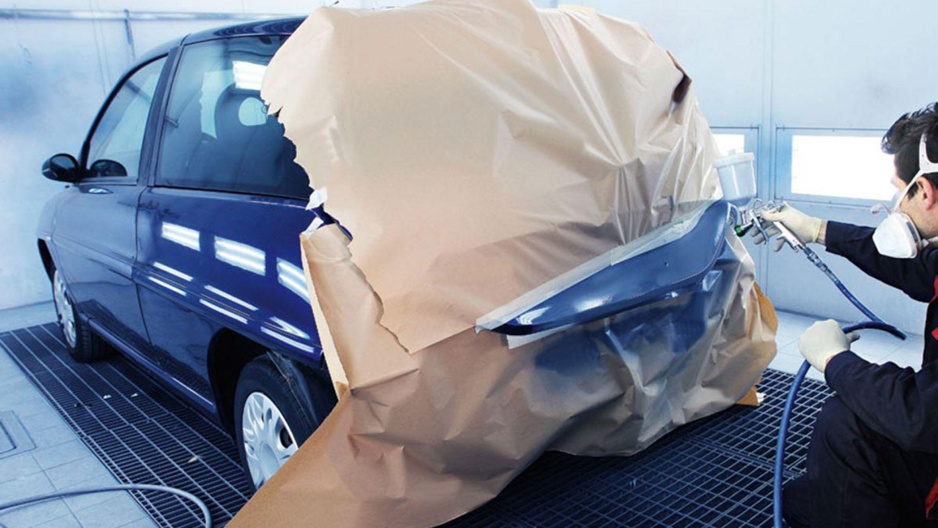Об окраске и кузовном ремонте