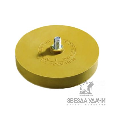 ERASER WHEEL Диск полиуретановый для снятия липких лент со шпинделем