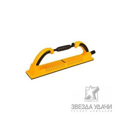 Ручной шлифовальный блок Premium гибкий 70х400 53 отв., на липучке
