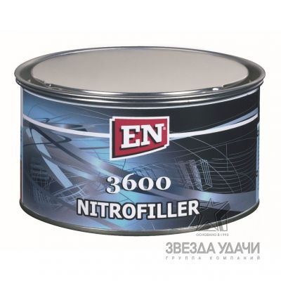 Шпаклевка нитро 3600 0,75 кг. EN /уп12