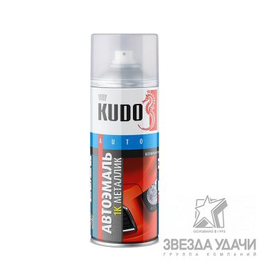 Сильвер ГАЗ ремонтная металлизированная 520 мл Kudo