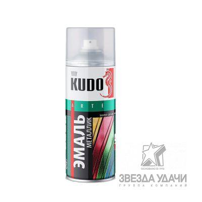 Зеленая олива эмаль универсальная металлик 520мл Kudo