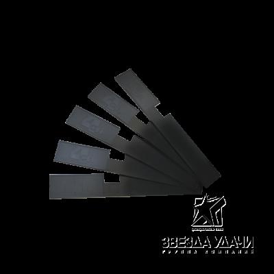 Палочка для размешивания красок, черная 20см упаковка 30шт CF