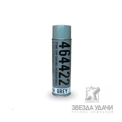 Антигравийное антикоррозийное покрытие аэрозоль, серый 500мл RoxelPro