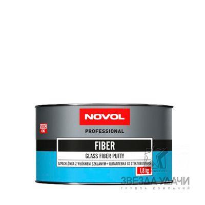 Шпатлевка FIBER со стекловол 1,8 кг Novol