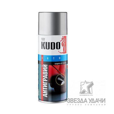 Антигравий с эффектом шагрени серый 520 мл Kudo