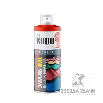 Коричневая медь для металлочерепицы RAL 8004 520мл Kudo