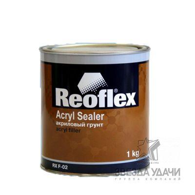 Грунт 1К акриловый 1кг серый Reoflex