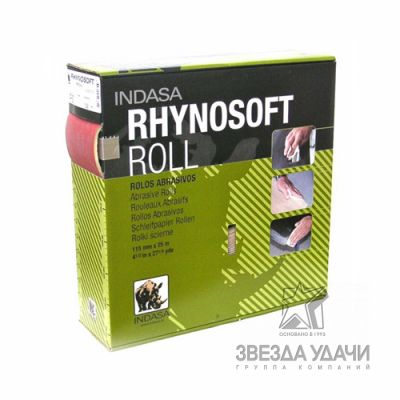 RHINOSOFT Рулон 115мм*25м Р240 Indasa