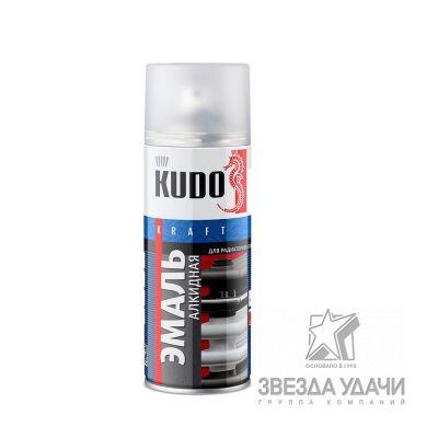 Эмаль для радиаторов отопления белая матовая 520 мл Kudo