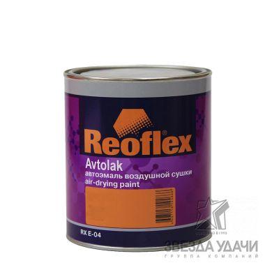 Черная матовая эмаль воздушной сушки 0,75 л Reoflex