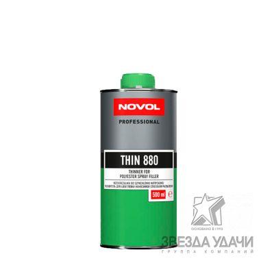 Разбавитель для жидкой шпатлевки 0,5л Novol