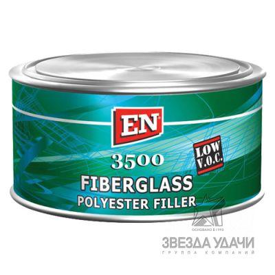 Шпаклевка Fiberglass со стекловол. 3500 1,5 кг. EN /уп6