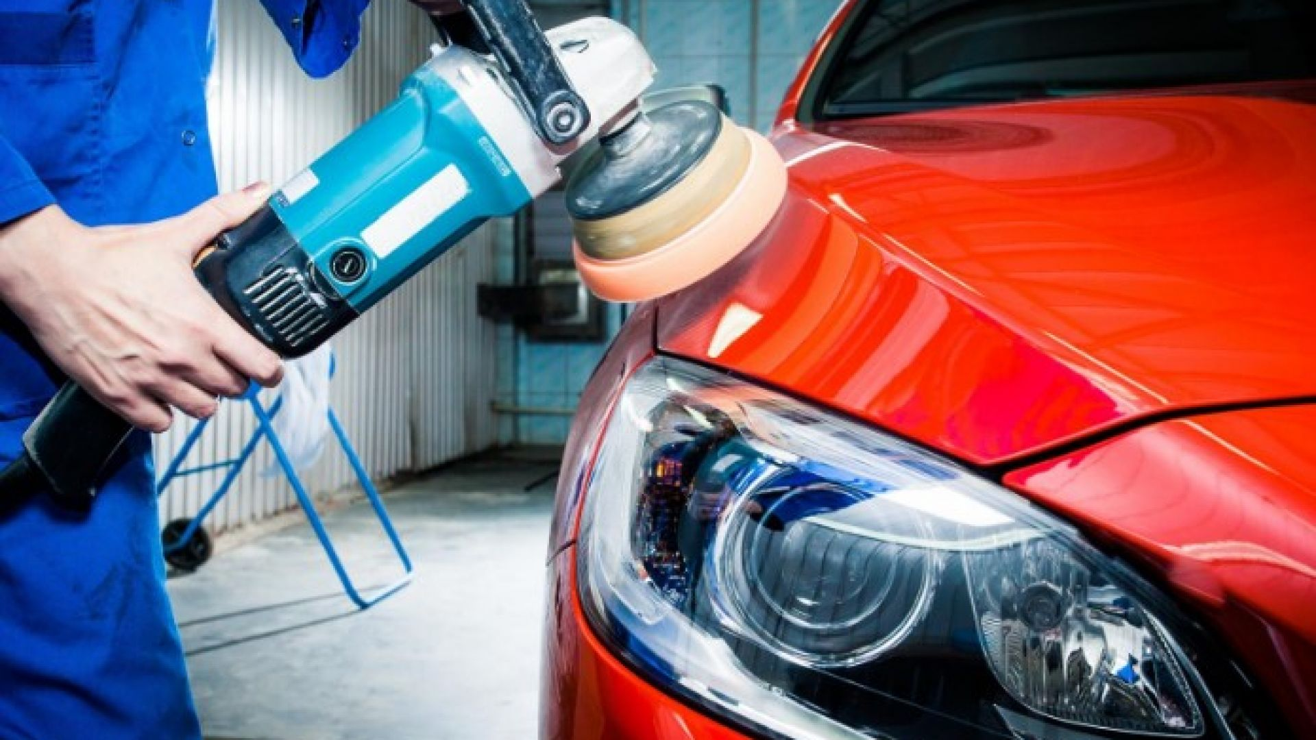 Как убрать подтеки после покраски автомобиля