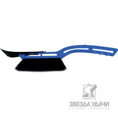 SF-0001 Щетка для снега со скребком, 52см SAPFIRE