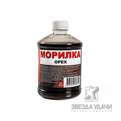 Морилка Орех 0,5 л Вершина уп/20