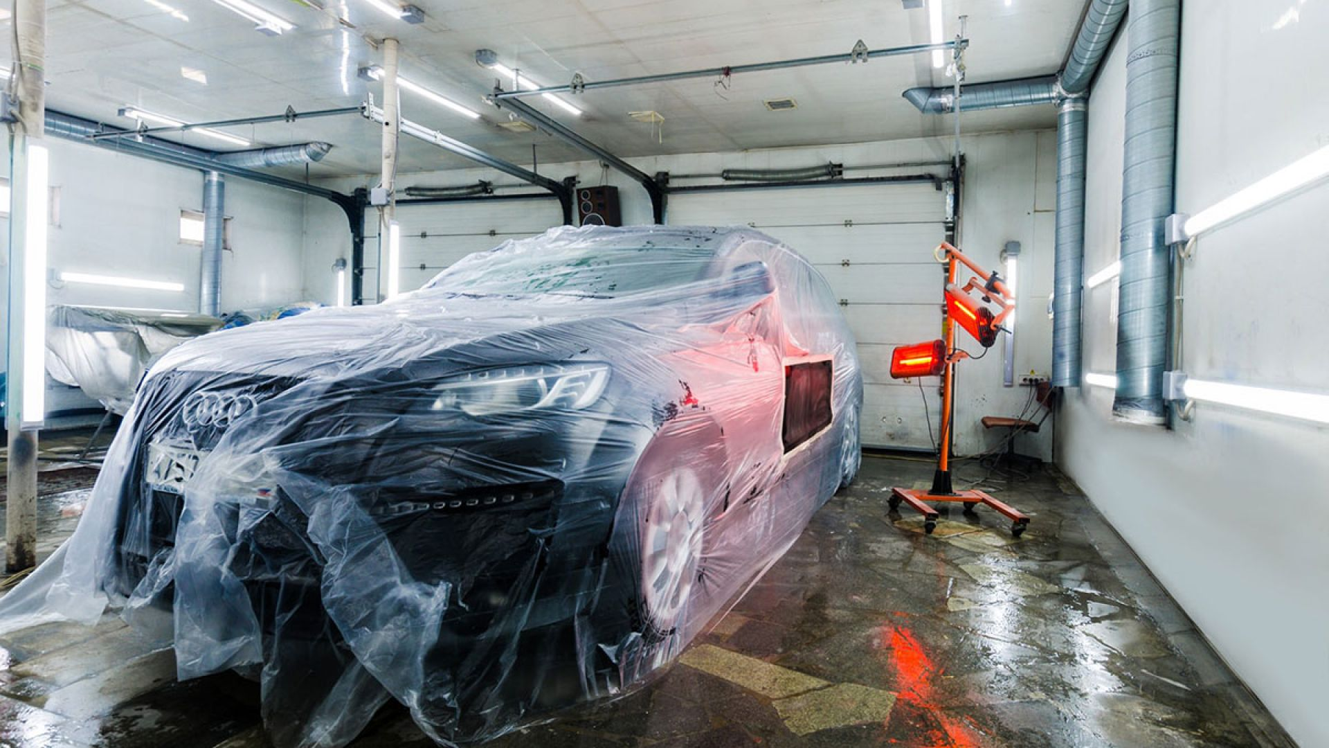 Локальная покраска автомобиля: основные этапы ремонта без снятия деталей