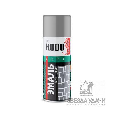 Серо-бежевая эмаль универсальная 520мл Kudo
