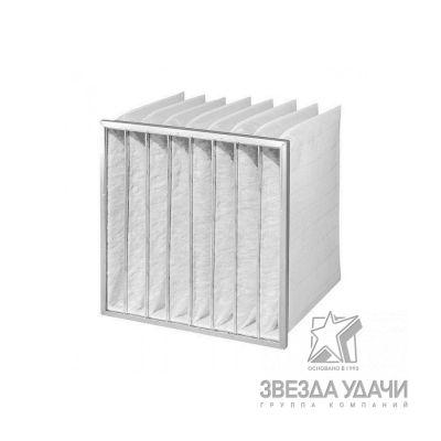Фильтр карманчатый G4 450 Х 590 Х 360, 4ЕТ на рамке 25мм.