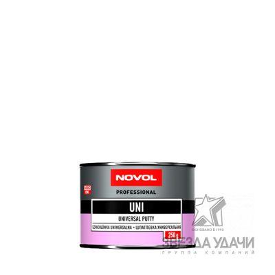Шпатлевка UNI универсал. 0,25 кг Novol