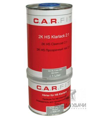 CF Прозрачный лак HS 1л. вкл. отвердитель 0,5 л (комплект)