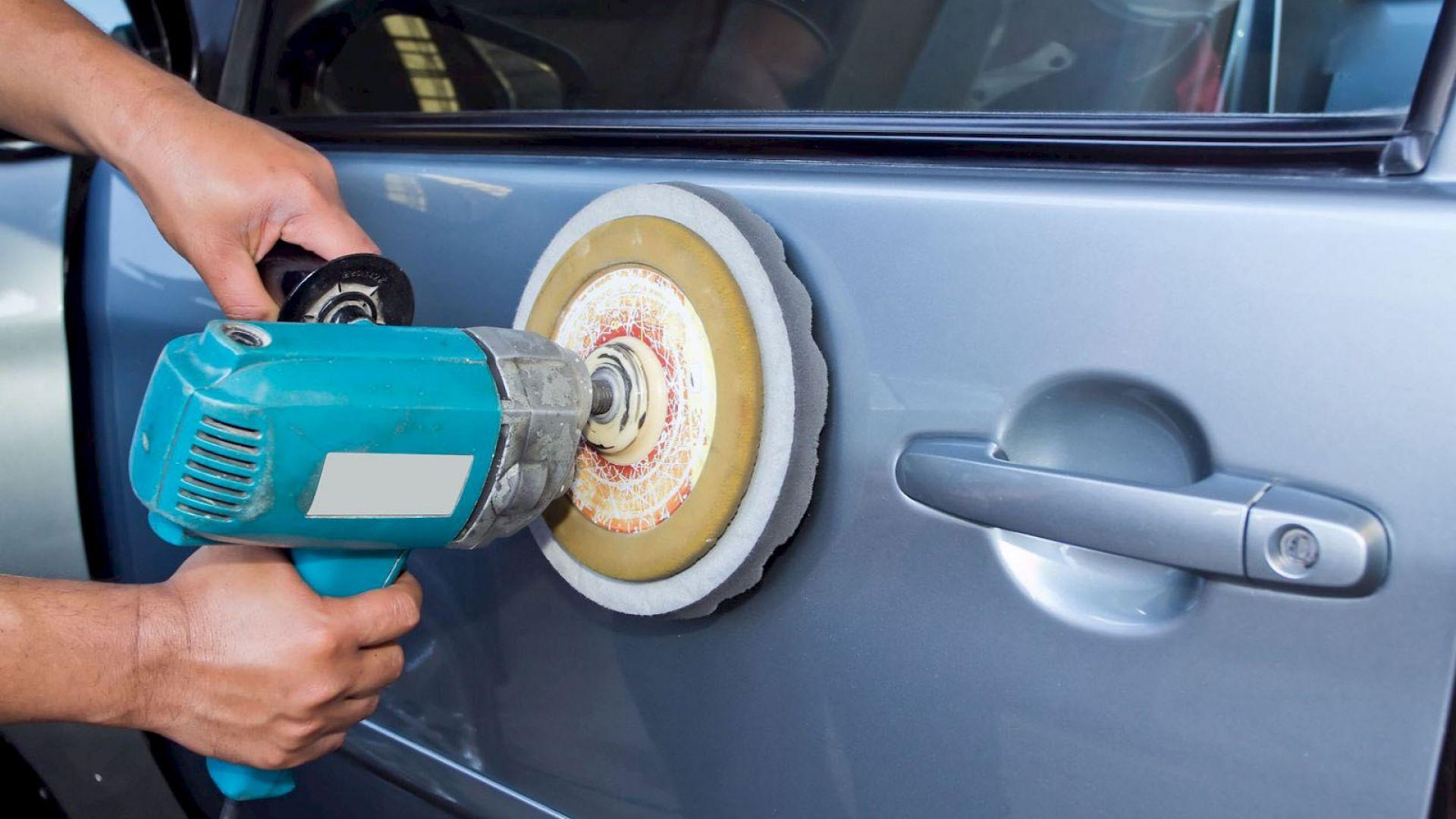 Пошаговое восстановление краски на кузове автомобиля