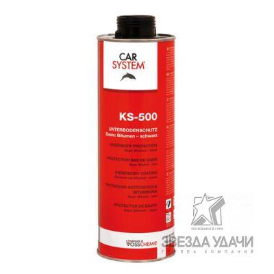KS-500 Битумное антикоррозионное средство для защиты днища, черное 1л