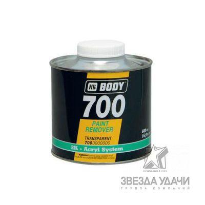 Смывка старой краски 700 0,5л Body