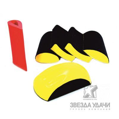 Набор шлифков для фасонных деталей 6 предметов (пластиковый кейс) Русский Мастер