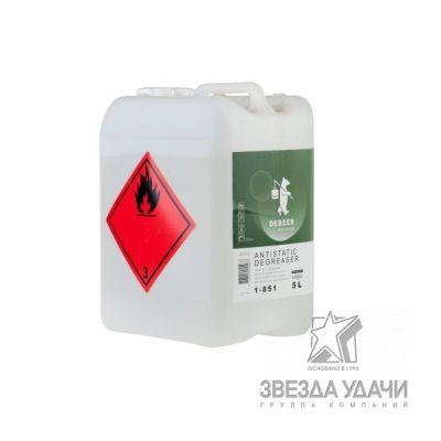 Обезжириватель 1-851, антистатический 5 л DeBeer