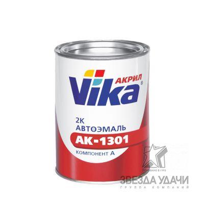 Акриловая эмаль АК-1301 Черная 601 0,8 кг. Вика