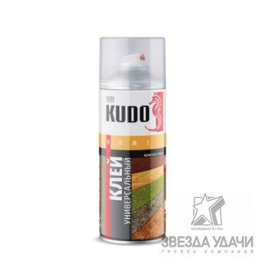 Клей аэрозольный универсальный 520 мл Kudo