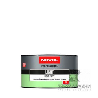 Шпатлевка LIGHT легкая 1 кг Novol