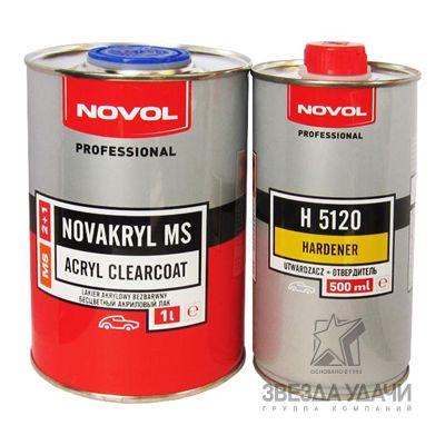 Лак 2+1 MS (1л+0,5л) Novol
