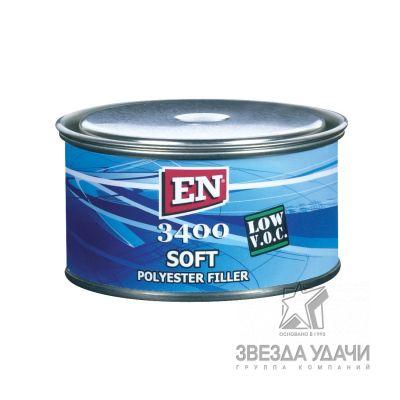 Шпаклевка Soft 3400 1,0 кг. EN /уп12